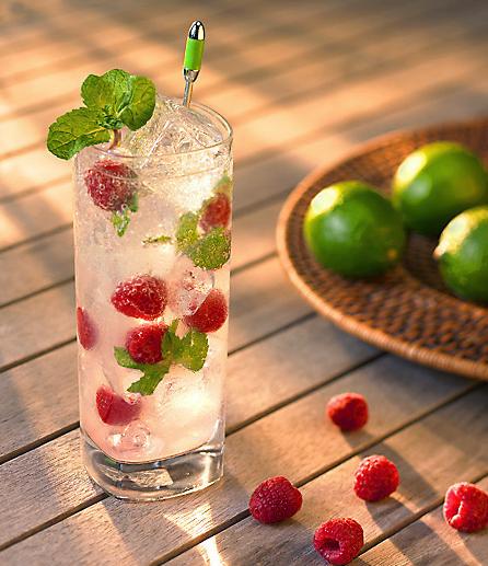 Refreshing Raspberry Mojito