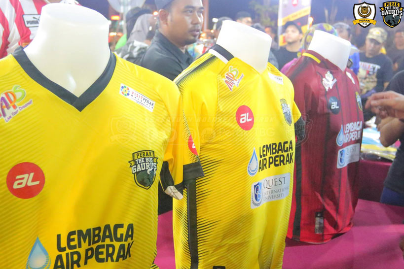 Perak FA Kits 2018 -  Dream League Soccer Kits