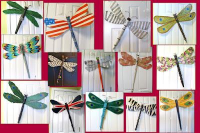 art dragonflies