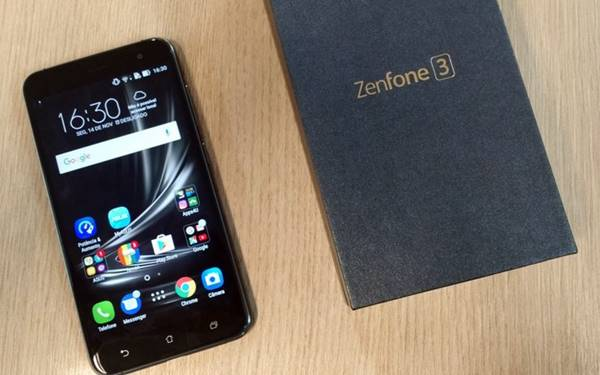 Zenfone 3 ganhou elegância ao deixar plástico usado nas versões anteriores e receber metal e vidro em sua composição