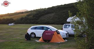 Camping del PN de Skaftafell, Islandia
