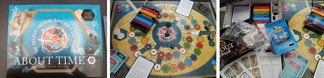 About Time Board Game, board games, Trivia