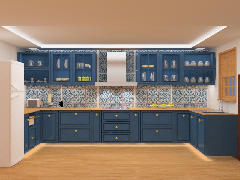 Book My Interior Modular Kitchen Design