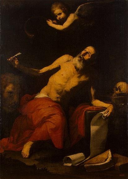 Jose de Ribera - San Jerónimo escucha la trompeta -  1626