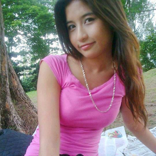 Malay awek baju kurung oren - 2 5