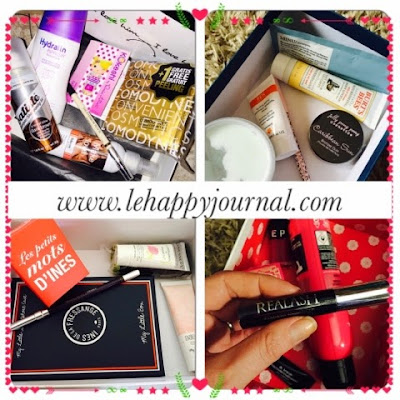choisir, choix, comparaison, box, beauté, glossy box, clarins, detox box, birchbox, my little box, my sweetie box, test, happy journal