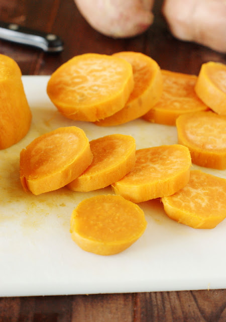 Slices of Sweet Potatoes Image