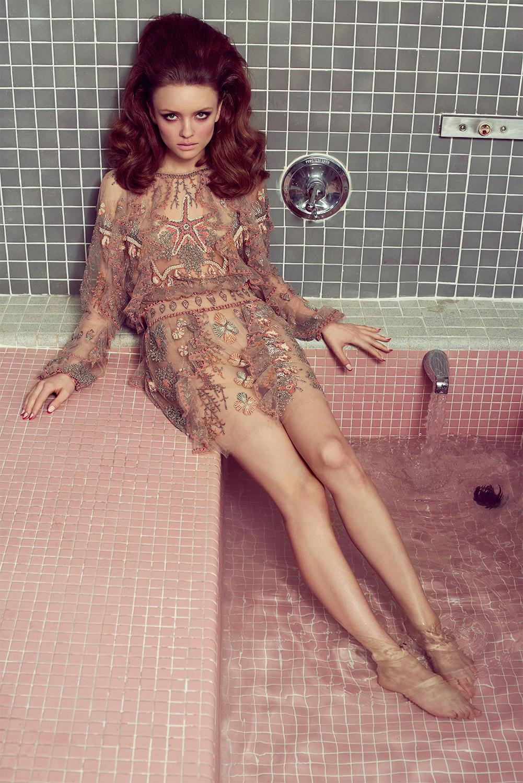 Bathtub Doll With Hair