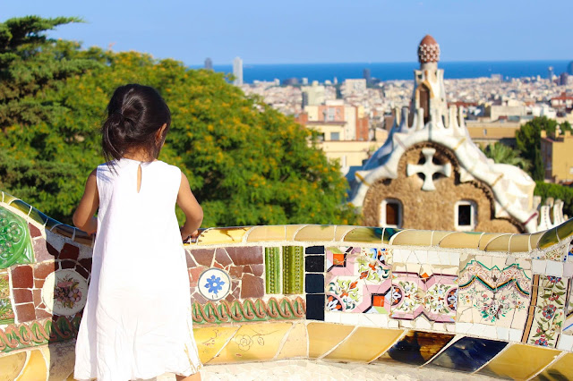 Mosaic Terrace | Park Guell  | Chichi Mary Blog