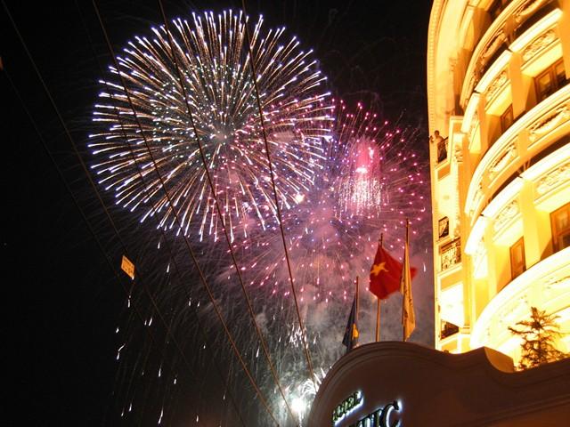 Fiestas locales Asturias 2013 - Fireworks © Neil Ta