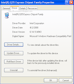 Manual Update Windows XP Drivers