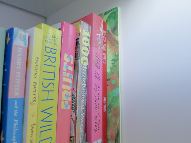 books on fashioh, hand lettering, wildlife and mixed media art