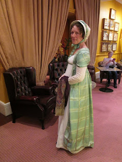 c. 1797 Open Robe, Jane Austen Festival