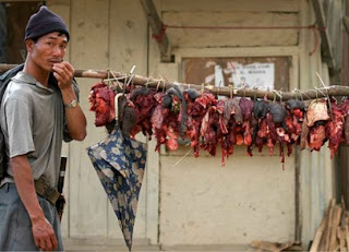 Insólito: Chino vendía carne humana en el mercado del pueblo