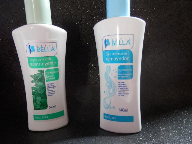 Resenha: Loção Adstringente e óleo hidratante removedor da Depil Bella