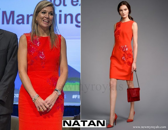 Queen Maxima wore NATAN Dress - Edouard-Vermeulen - Fall-Winter-2016