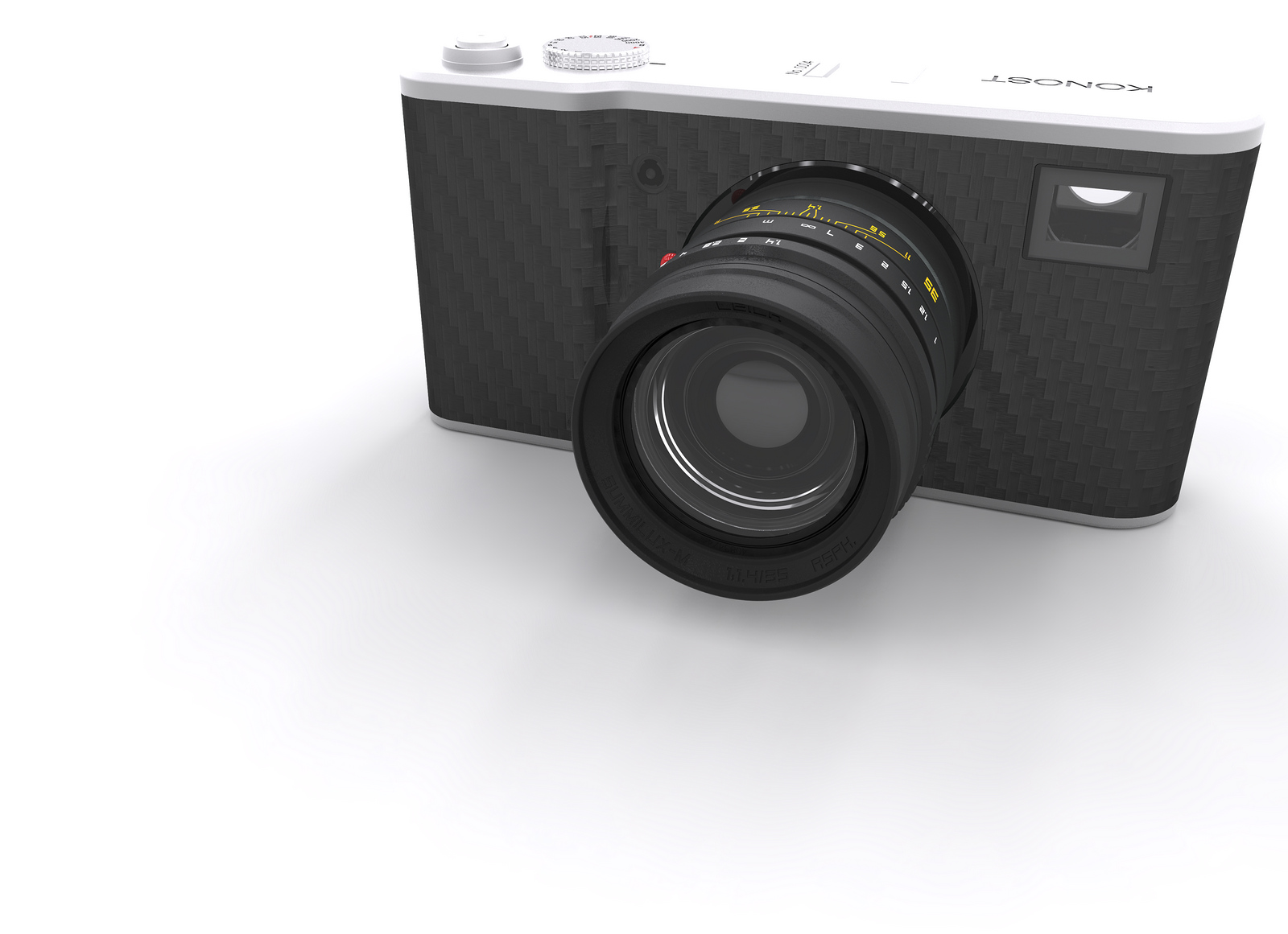 Камера Konost, отделка из углеволокна