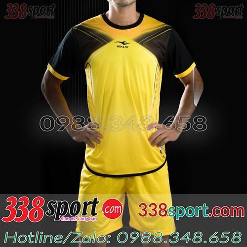Áo Bóng Đá Không Logo Hot Keply-Krush STA03 Vàng