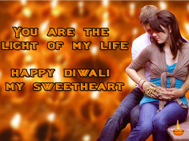 Diwali Wishes Messages Sms for Husband Wife