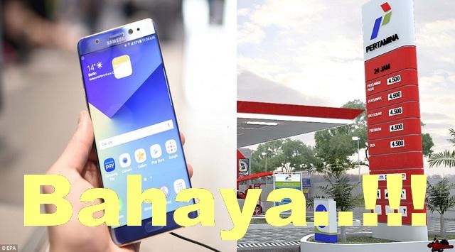 Kenapa Main Handphone Di Pom Bensin Dilarang ?
