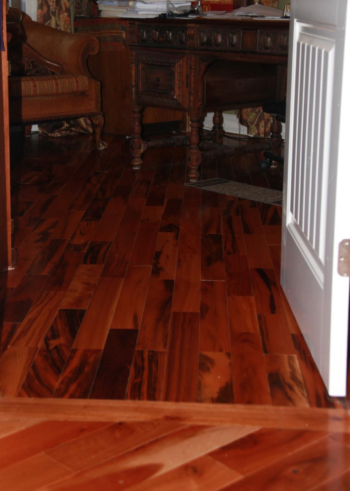 Blue Ridge Surplus Project photos Tigerwood Flooring