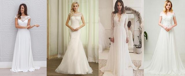 7 najlepszych sukien ślubnych dla Panny Młodej