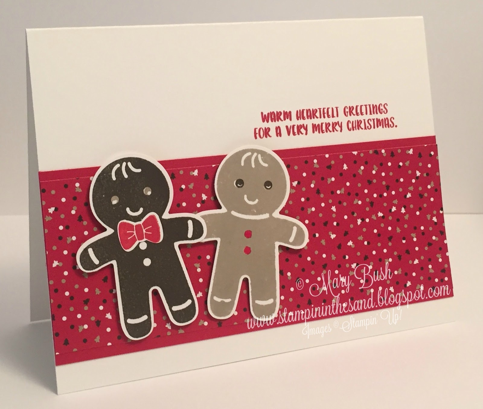 Stampin' in the Sand: Video 1 of 3: Cookie Cutter Christmas Meets ...
