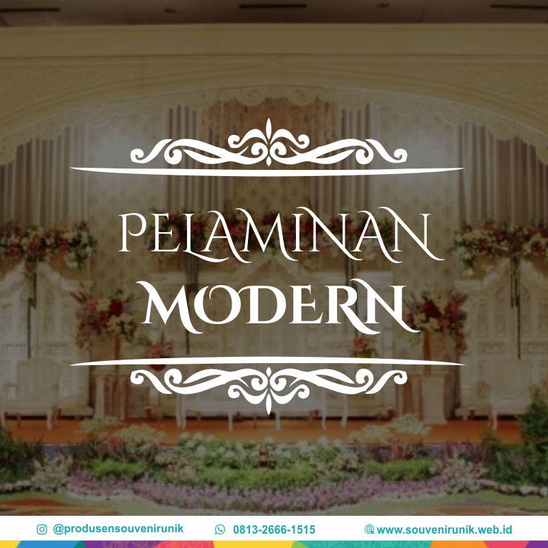 pelaminan modern