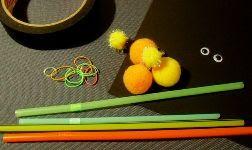 Cara Membuat Kerajinan Tangan Dari Sedotan, Boneka Sedotan