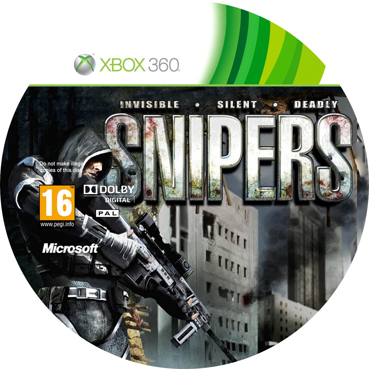 Label Snipers Xbox 360