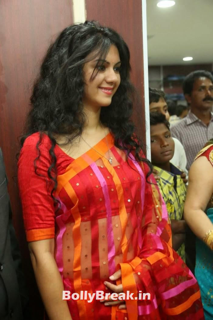 , Kamna Jethmalani at Sare Store Launch in Red Saree