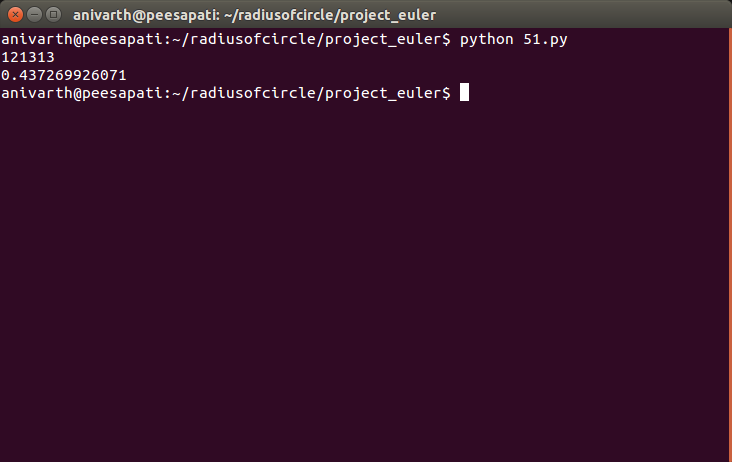 Problem 51 Project Euler Solution with python