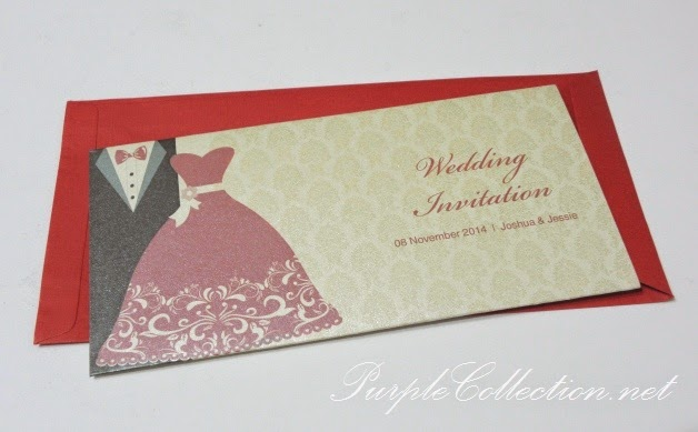bride & groom suit, wedding card, invitation, red, pocket, envelope, photo card, printing, cetak, kad kahwin, malaysia, singapore, johor bahru, australia, kedah, penang, perak, ipoh, sabah, sarawak, brunei, melaka, pahang, online, order, personalised, personalized, custom made, design, artwork, free, bespoke, modern, special, elegant, unique, simple