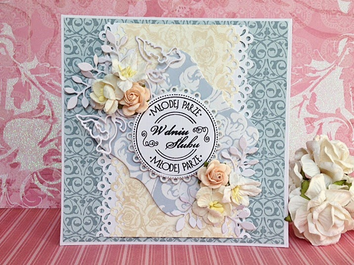 Scrapbooking wedding cards