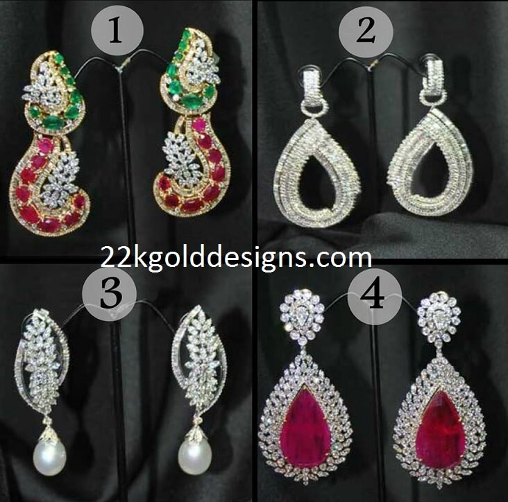 Stylish Diamond Earrings Gallery