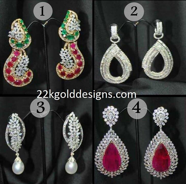 Stylish Diamond Earrings Gallery