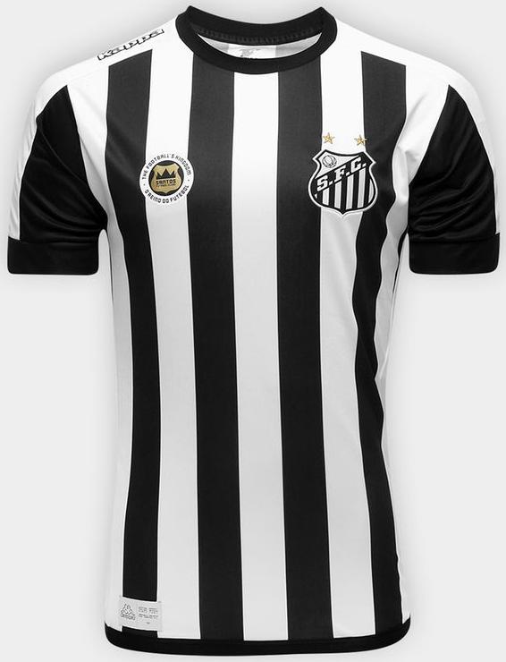 Kappa lança a nova camisa reserva do Santos - Show de Camisas 296277c07216e