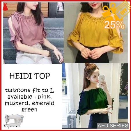 AFO053 Model Fashion Heidi Top Modis Murah BMGShop