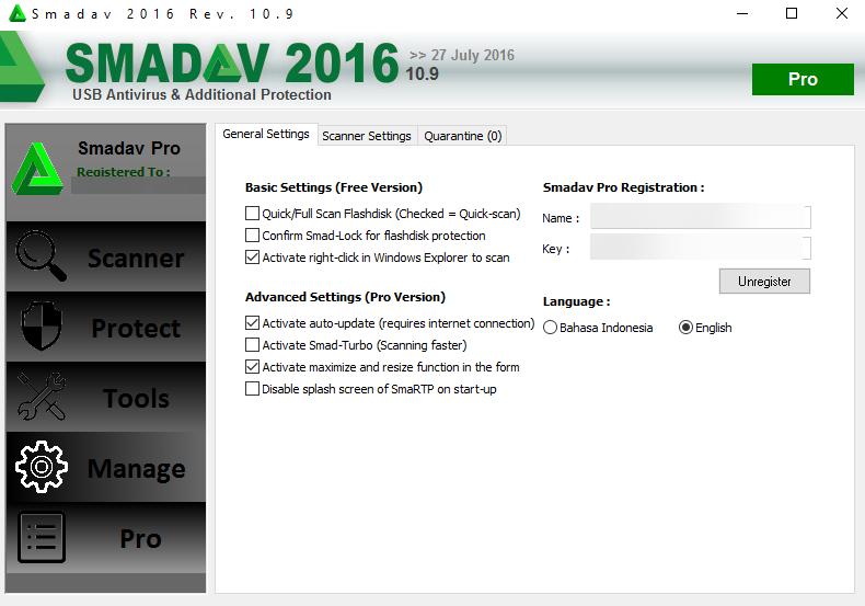 Smadav 2019 Crack Serial Key Full Version Free Download Lifetime