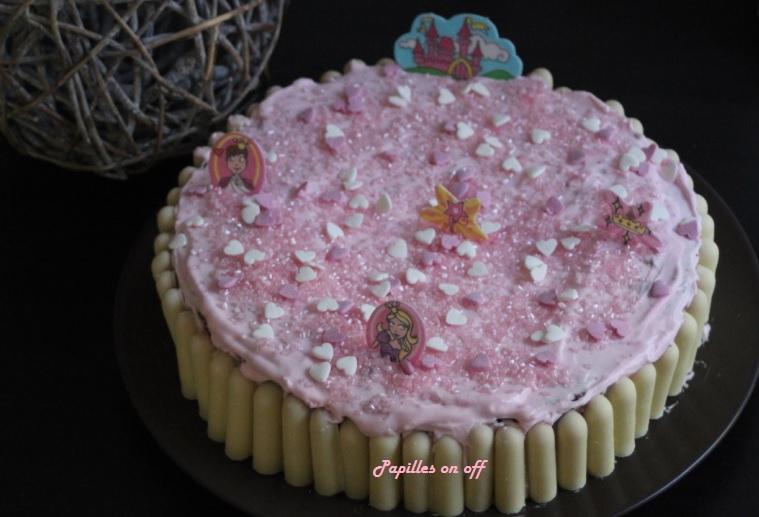 Gâteau Danniversaire Pour Fille 5ans Gâteau Chocolat Au Lait