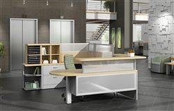 Welcome Desks with Wow Factor at OfficeFurnitureDeals.com