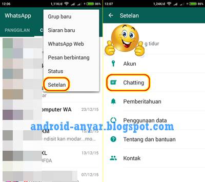 Cara Ubah dan Ganti Gambar Background WhatsApp Wallpaper Terbaru