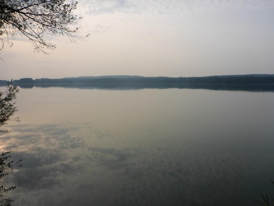 Отражение, вода, облака, озеро