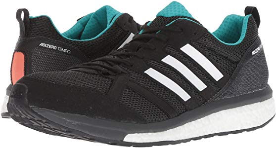 bc8885f6f Made for stability, these men's running shoes adidas AdiZero tempo 9 are  designed with firm cushioning on the medial side to guide the foot from  foot strike ...