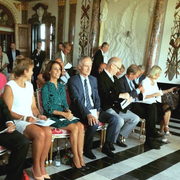 Princess Marie  Of Denmark Participate In The Celebration Of Admission To The World Heritage List
