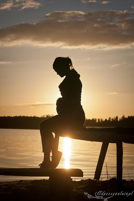 lato w ciąży, sesja z brzuszkiem