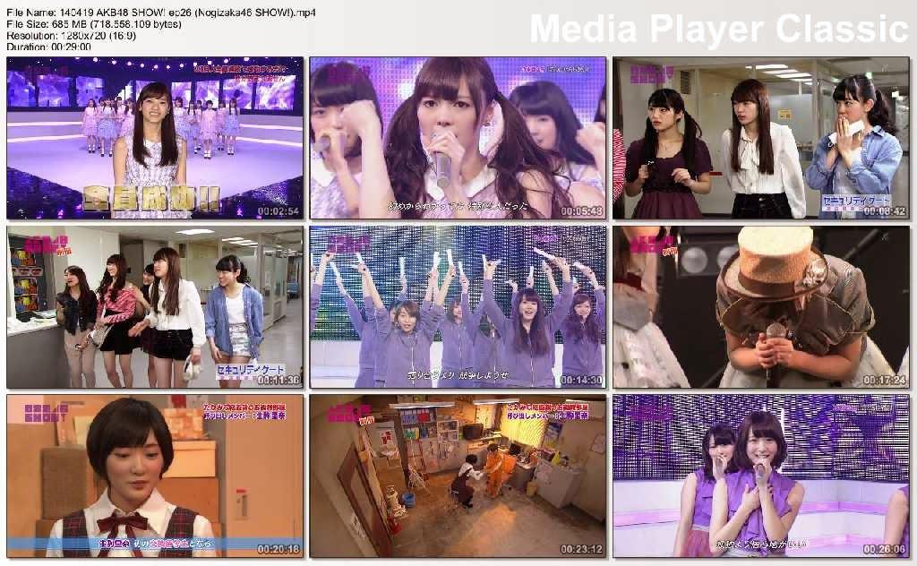 DOWNLOAD] AKB48 SHOW! Episode 26 (Nogizaka46 SHOW!) | Redjo48