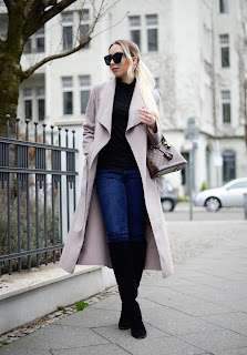 long coat streetstyle