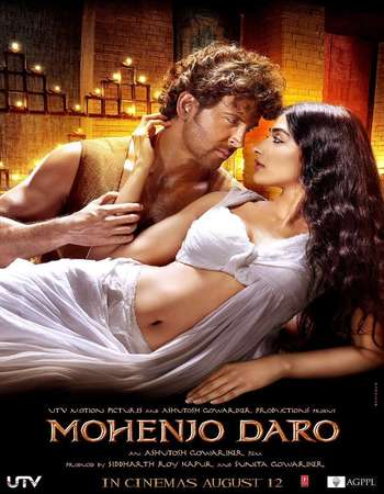 Poster Of Mohenjo Daro 2016 Hindi 700MB BRRip 720p ESubs HEVC Watch Online Free Download downloadhub.in