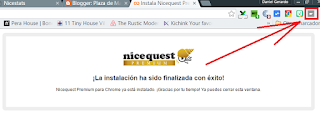 add-on nicequest instalado